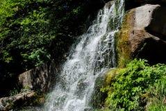 Cascate nel parco Sofiyivka fotografia stock libera da diritti