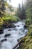 Cascate nelle montagne Immagine Stock Libera da Diritti