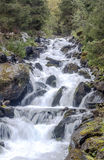 Cascate nelle montagne Fotografie Stock