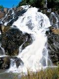 Cascate nello Swaziland Immagine Stock