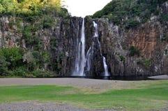Cascate prima del tramonto, Reunion Island di Niagara Immagine Stock Libera da Diritti