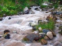 Cascate sul fiume Fotografie Stock