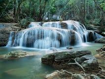 Cascate in Tailandia Fotografia Stock Libera da Diritti