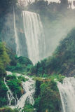Cascate (waterfall) delle Marmore (Italy) Royalty Free Stock Images
