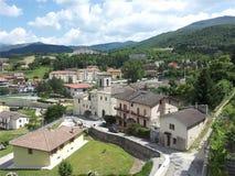 Cascia, Úmbria, Itália foto de stock