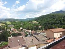 Cascia, Úmbria, Itália imagem de stock royalty free