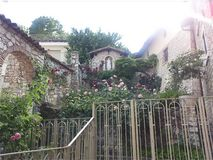 Cascia, Úmbria, Itália fotografia de stock royalty free