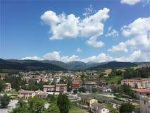 Cascia, Umbria, Włochy fotografia stock