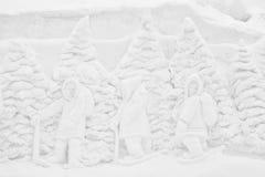 Casco 2012 Jacques Cartier, PC del parque de Winterlude Imagenes de archivo