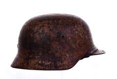 Casco alemán de la guerra fotografía de archivo