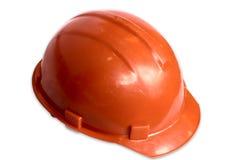 Casco anaranjado Fotografía de archivo libre de regalías