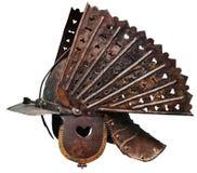 Casco antiguo del guerrero Imagenes de archivo