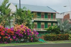 Casco Antiguo, Republic of Panama. Colonial Area. Royalty Free Stock Photos