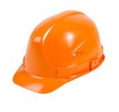Casco arancio Fotografie Stock