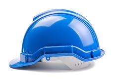 Casco azul de la construcción Foto de archivo