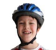 Casco de la bicicleta imagen de archivo