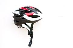 Casco de la bicicleta Fotografía de archivo libre de regalías