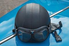 Casco de la moto Foto de archivo libre de regalías