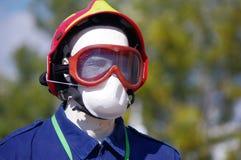 Casco de los bomberos Fotografía de archivo libre de regalías