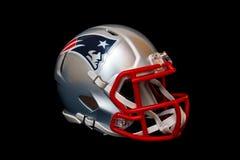 Casco de los New England Patriots foto de archivo