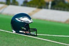Casco de los Philadelphia Eagles NFL imagen de archivo libre de regalías