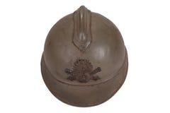 Casco del acero WW1 Fotos de archivo