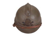 Casco del acero WW1 Imagen de archivo libre de regalías