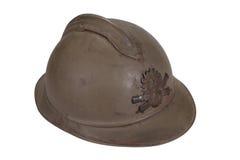 Casco del acero WW1 Imágenes de archivo libres de regalías