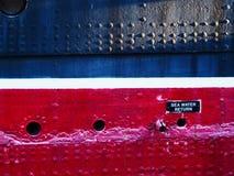 Casco del buque de vapor Imagenes de archivo
