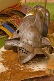 Casco del gladiador Imagenes de archivo