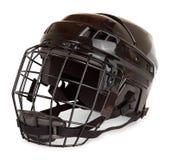 Casco del hockey Foto de archivo libre de regalías