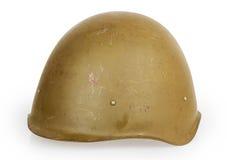 Casco dell'esercito Fotografie Stock