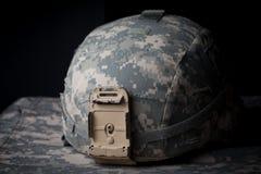 Casco dell'esercito americano Fotografia Stock Libera da Diritti