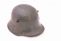 Casco dell'esercito tedesco da WWI, WWII fotografia stock