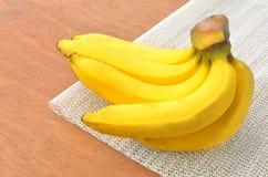 Casco di banane Fotografia Stock