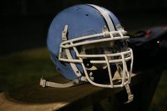 Casco di gioco del calcio Fotografie Stock Libere da Diritti