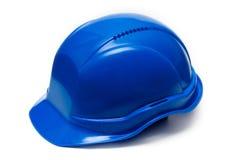 Casco di plastica della costruzione Immagine Stock Libera da Diritti