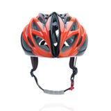Casco di sicurezza del mountain bike della bicicletta Fotografia Stock
