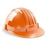 Casco di sicurezza della costruzione illustrazione vettoriale