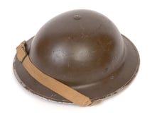 Casco di WW11 Britannici Fotografia Stock