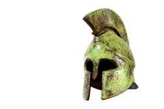 Casco espartano Imagen de archivo libre de regalías