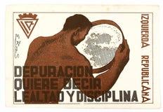Casco francés de la primera guerra mundial, Adrian guerra civil 3Spanish fotos de archivo libres de regalías