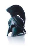 Casco griego Imagenes de archivo