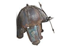 Casco medieval Fotos de archivo