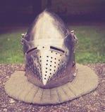 Casco medieval Fotografía de archivo libre de regalías
