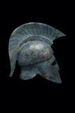 Casco militar espartano Imagen de archivo libre de regalías