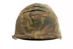 Casco militare Immagini Stock