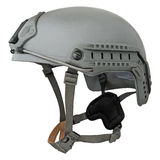 Casco militare grigio fotografia stock