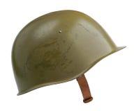 Casco militare sovietico Immagine Stock