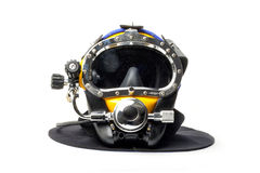 Casco moderno di immersione subacquea Immagini Stock